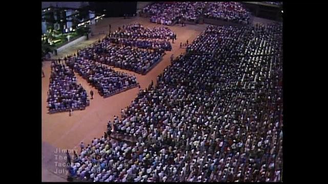TACOMA WASHINGTON - 07/14/1984 SATURDAY CRUSADE