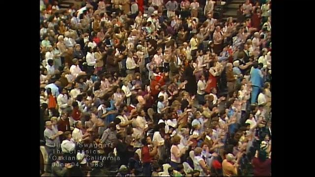 OAKLAND CALIFORNIA - 06/04/1983 SATURDAY CRUSADE