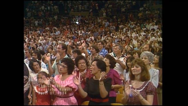 HONOLULU HAWAII - 04/01/1984 SUNDAY C...