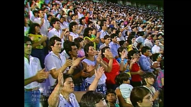 ASUNCION PARAGUAY - 01/18/1987 SUNDAY CRUSADE