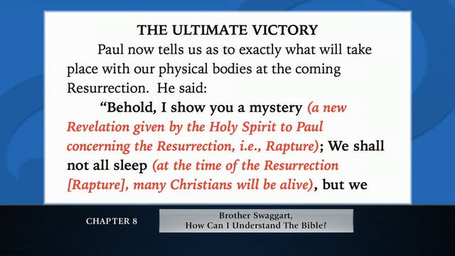 The Message Of The Cross - Sep. 21st,...