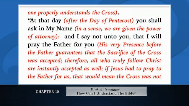 The Message Of The Cross - Jan. 12th,...