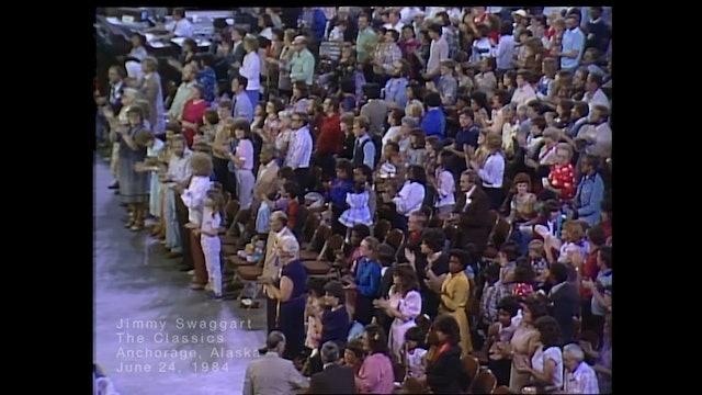 ANCHORAGE, ALASKA - 06/24/1984 SUNDAY CRUSADE