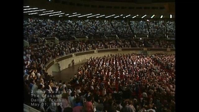 DALLAS, TEXAS - 05/01/1983 SUNDAY CRUSADE
