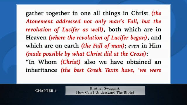 The Message Of The Cross - Mar. 4th, ...