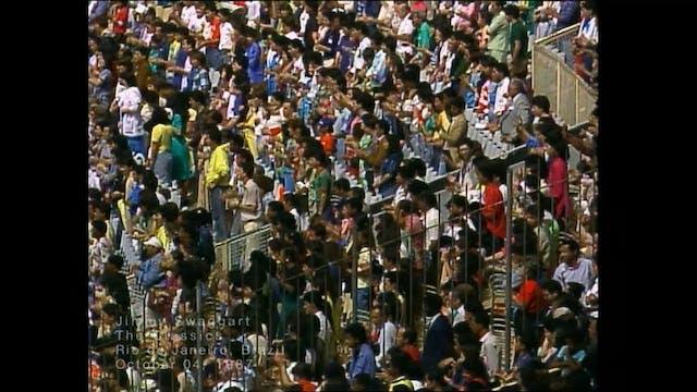 RIO DE JANEIRO BRAZIL - 10/04/1987 SU...