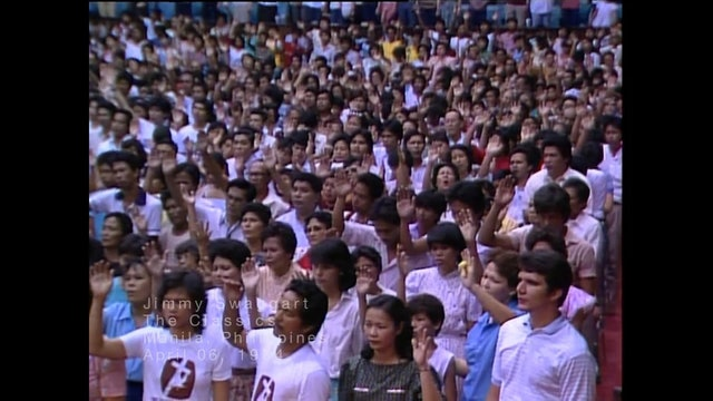 MANILLA PHILIPINES - 04/06/1984 FRIDAY CRUSADE
