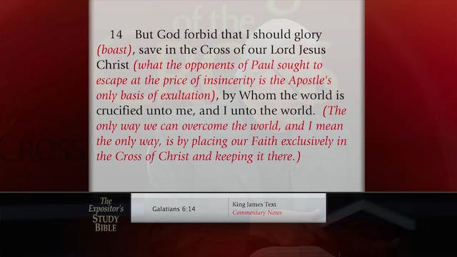 The Message Of The Cross - Nov. 29th,...