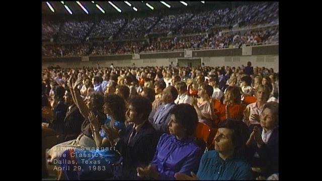 DALLAS TEXAS - 04/29/1983 FRIDAY CRUSADE