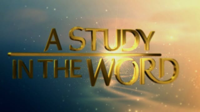 A Study In The Word - Sep. 29th, 2021