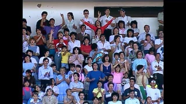 SANTIAGO CHILE - 01/10/1987 SATURDAY ...