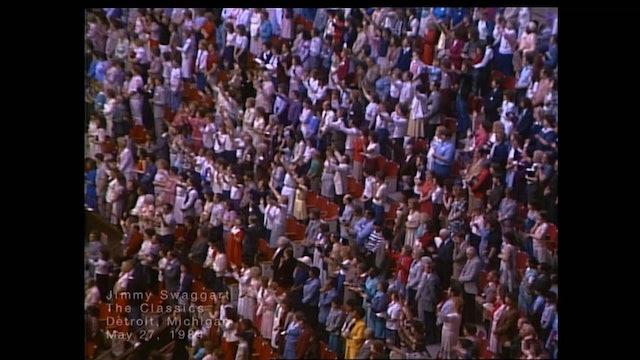 DETROIT MICHIGAN - 05/27/1984 SUNDAY CRUSADE
