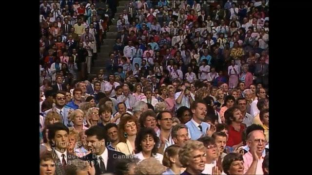 VANCOUVER BC CANADA - 05/31/1987 SUNDAY CRUSADE