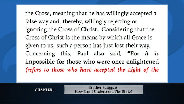 The Message Of The Cross - May, 6th, ...