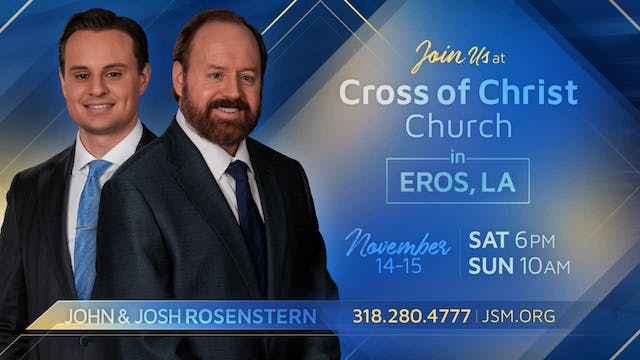 The Message Of The Cross - Oct. 20th,...