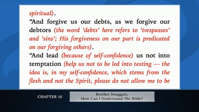 The Message Of The Cross - Jan. 25th,...