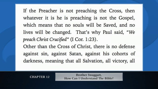 The Message Of the Cross - Apr. 30th,...