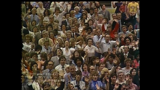 BIRMINGHAM, ALABAMA - 04/17/1983 SUNDAY CRUSADE