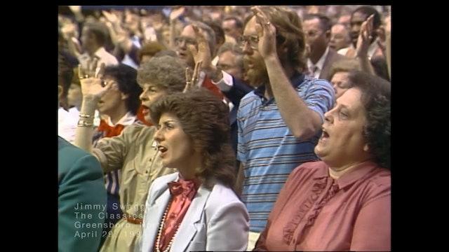 GREENSBORO NORTH CAROLINA - 04/29/1984 SUNDAY CRUSADE