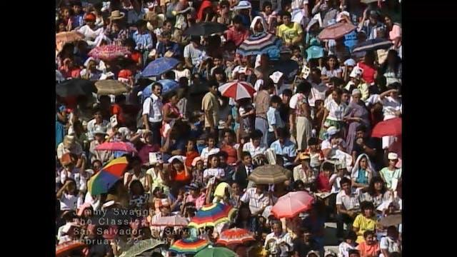 SAN SALVADOR EL SALVADOR - 02/22/1987...
