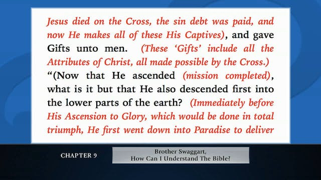 The Message Of The Cross - Dec. 28th,...