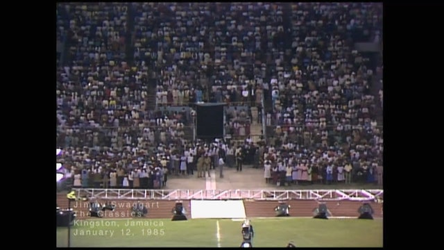 KINGSTON JAMAICA - 01/12/1985 SATURDAY CRUSADE