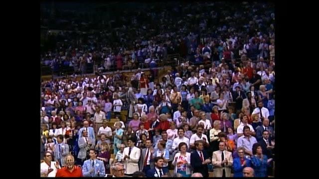 TAMPA FLORIDA - 02/22/1986 SATURDAY CRUSADE