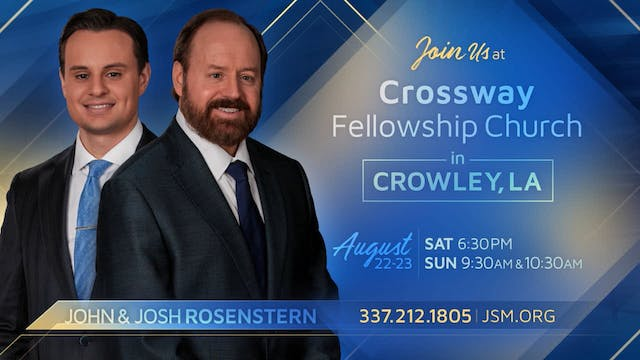 The Message Of The Cross - Jul. 22nd,...
