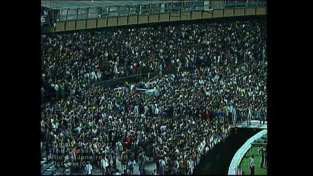 RIO DE JANEIRO BRAZIL - 10/03/1987 SA...
