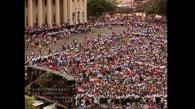 MANAGUA NICARAGUA - 02/14/1988 SUNDAY CRUSADE