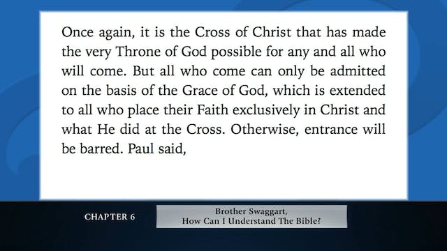 The Message Of The Cross - Apr. 27th,...