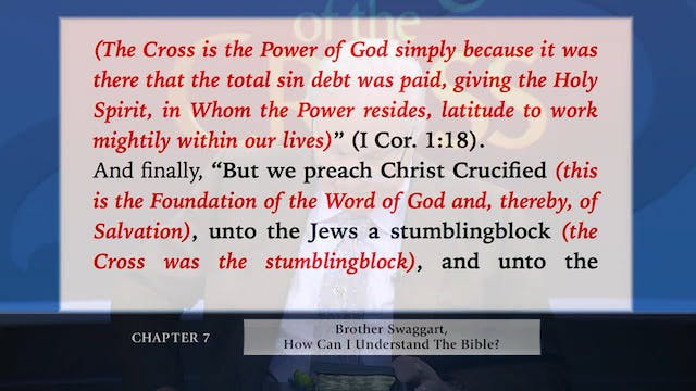The Message Of  The Cross - Jun. 3rd,...