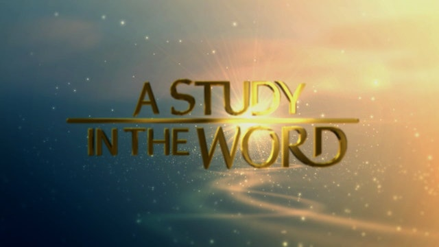 A Study In The Word - Sep. 30th, 2021