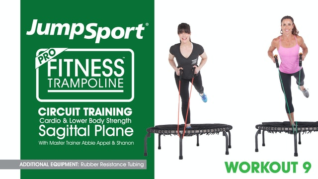 Circuit Training - Cardio & Lower Body Strength - Sagittal Plane