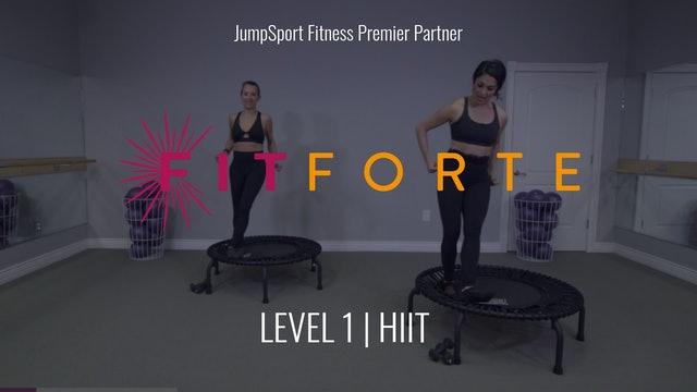 Level 1 | HIIT | Fitforte with Andrea
