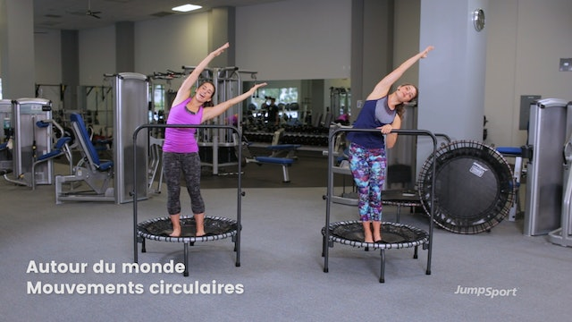 Balance Movements Workout With optional Handle Bar (FRANÇAIS)