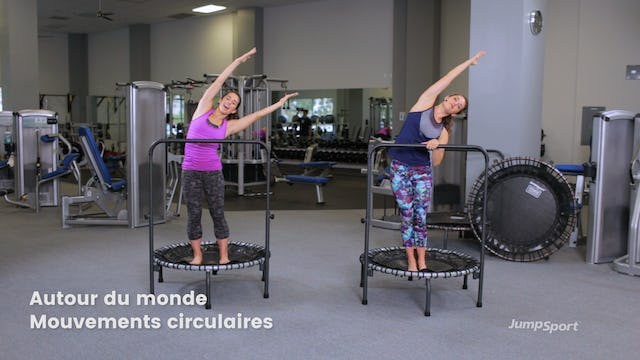 FRENCH Balance Movements Workout With optional Handle Bar
