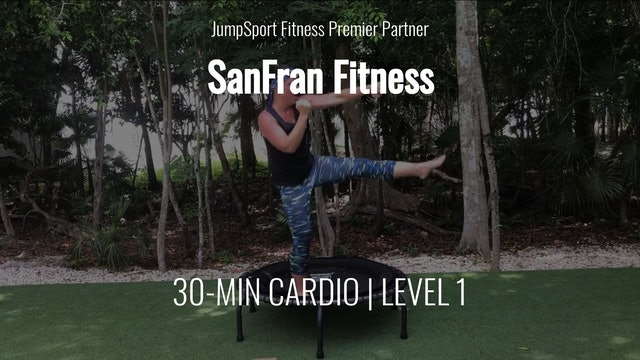 30-Min. Cardio   Level 1   SanFran Fitness