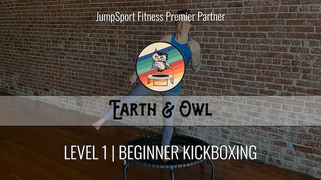 Level 1 | Beginner Kickboxing | Earth & Owl | Handlebar