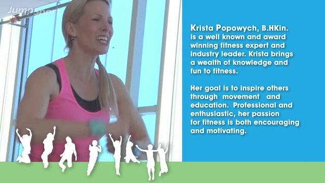 Krista Kid's Workout 01 - Warm Up