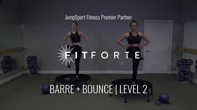 Level 2 | Barre + Bounce | Fit Forte ...
