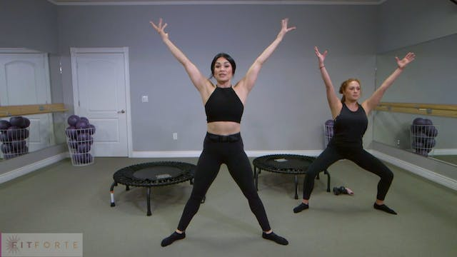 Level 1 | Bounce with Andrea | Fit Forte