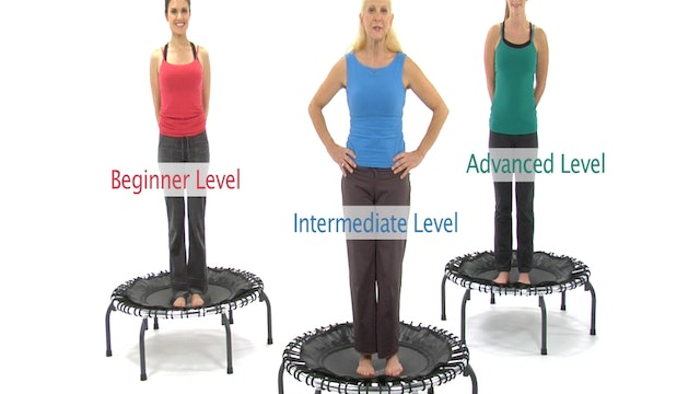 Basic Fitness Trampoline Workout (Included in Box)
