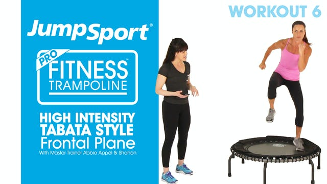 High Intensity – Tabata Style - Frontal Plane