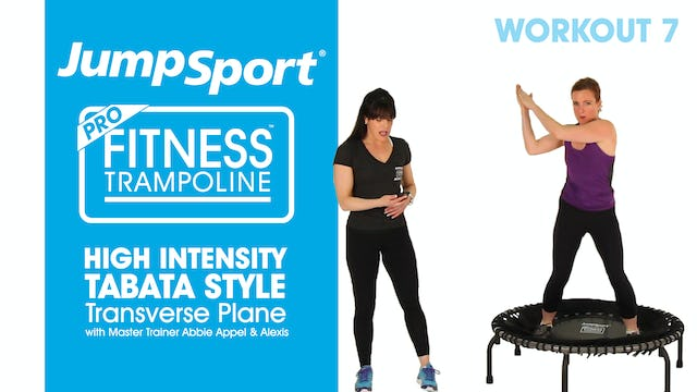 High Intensity – Tabata Style - Transverse Plane