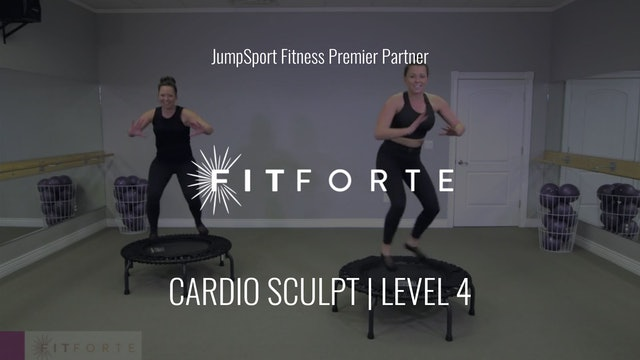 Level 4 | Cardio Sculpt | Fit Forte with Sofia