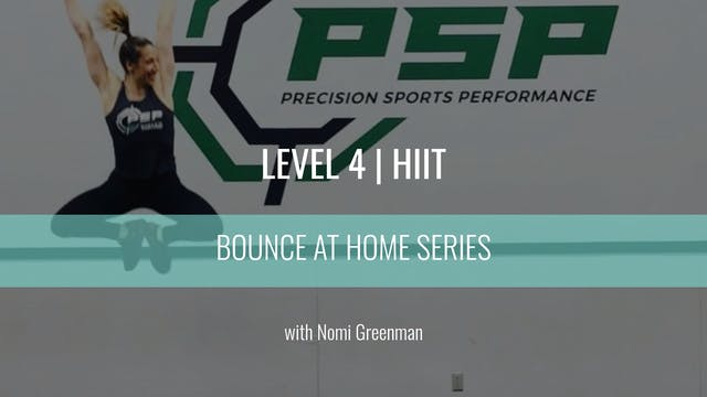 Level 4 | HIIT | Nomi Greenman | Boun...