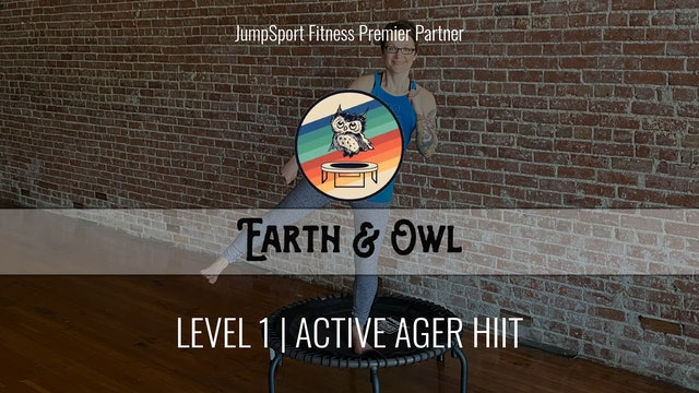 Level 1 | Active Ager HIIT | Earth & Owl with Nikki