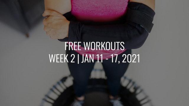 FREE Week 2 | Jan 11 - 17, 2021