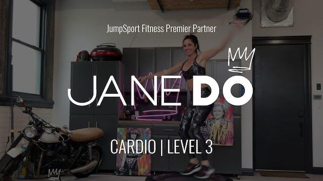 Level 3 | Cardio | Jane DO with Dani
